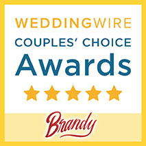 Brandy is a Wedding Wire Couples' Choice awarded band.